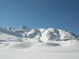 Verschneiter Grimselpass: Verschneiter Grimselpass