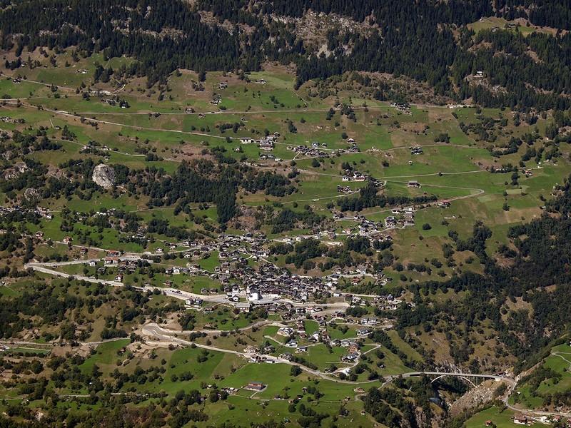 Das  Dorf Lalden : Das  Dorf Lalden