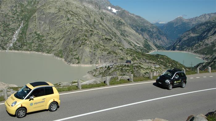 E-Auto Alpmobil