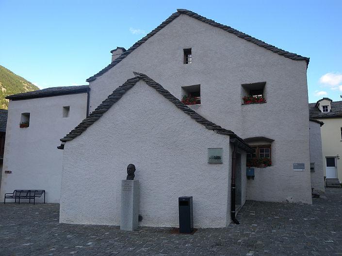 Altes erhaltenes Steingebäude auf dem Ecomuseum: Altes erhaltenes Steingebäude auf dem Ecomuseum
