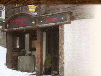 Eingang Restaurant Heida: Eingang Restaurant Heida