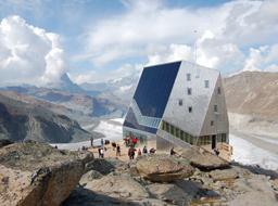 Bergkristall mit super Ausblick: Bergkristall mit super Ausblick