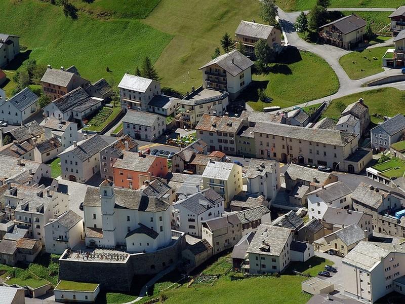 Das alte Masschihuis auf dem Simplon: Das alte Masschihuis auf dem Simplon