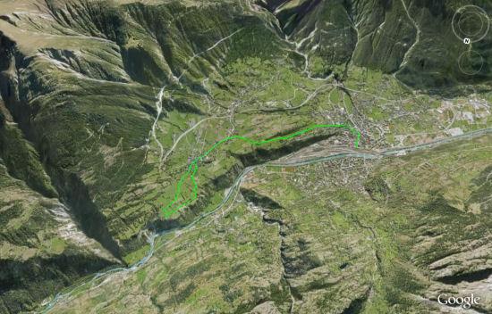 Karte: Erlebnispfad Berglandwirtschaft