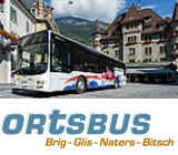 Unterwegs in Brig-Glis, Naters, Bitsch